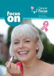 Focus On Autumn 2012 - Ulster Cancer Foundation