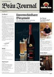 Ausgabe Nr. 5 - Schäffler Brauerei