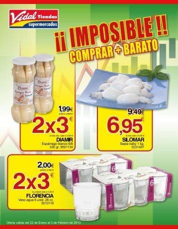 0,99 - Vidal Tiendas Supermercados