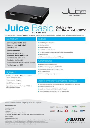 PDF - Juice Basic - Antik Technology