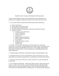 Bernalillo County Commercial Building Permit Requirements * Each ...