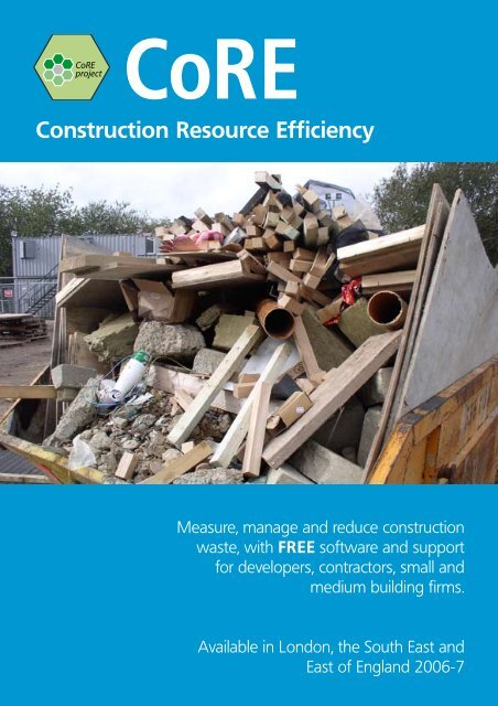 CoRE Project leaflet - Constructing Excellence