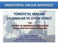 endüstriyel kirlilik kontrolü - REC Türkiye