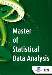 Leaflet - Master in Statistical Data-analysis