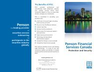 Comfort Brochure - Penson Canada NEW 3.ai - Sprott Private Wealth