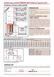 Produzione d'acqua calda potabile FRIWASTA WST Funzione ...