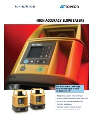 RL-H1Sa/RL-H2Sa HIGH ACCURACY SLOPE LASERS