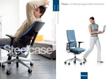 Please – La silla que sigue cada movimiento - Steelcase