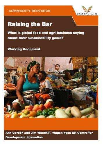 Raising the Bar - Seas of Change Initiative