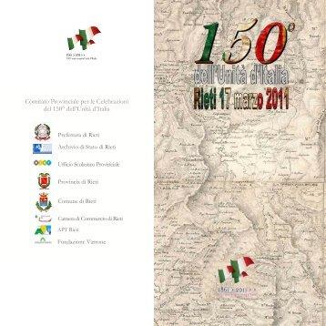 L'Invito - Archivio di Stato di Rieti