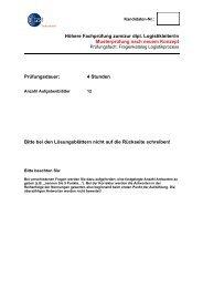 Fragenkatalog - GS1