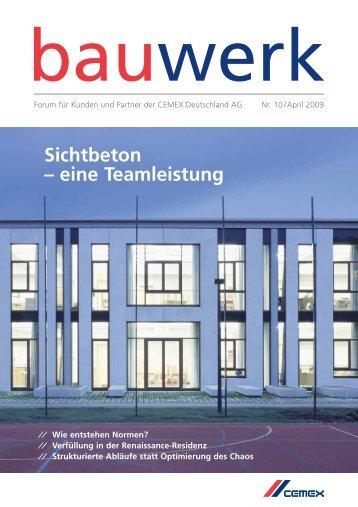 Nr. 10 / April 2009 - Cemex Deutschland AG