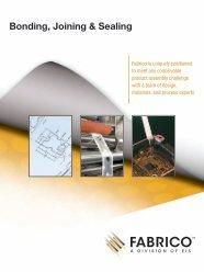 Bonding, Joining & Sealing - Fabrico