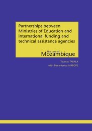 Partnerships between Ministries of Education and ... - ADEA