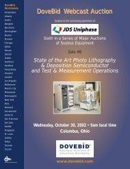 JDS 6 Brochure