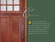 Craftsman Collection - Pella.com
