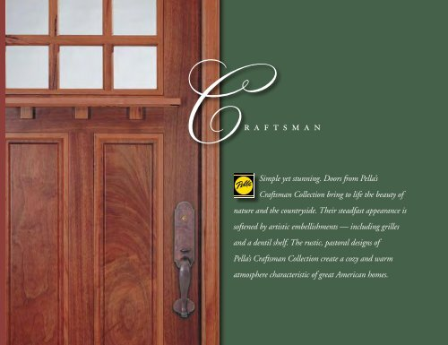 Craftsman Collection - Pella.com