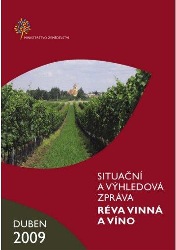 Réva vinná a víno - MZe ČR