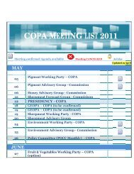 C COP PA M MEE ETIN NG L LIST 201 1