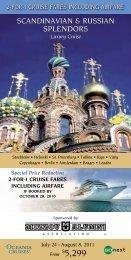 Luxury Cruise - Mizzou Alumni Association