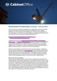 Government Construction newsletter – February 2012 - NIEP for the ...