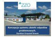 Koncepcja systemu zbiórki odpadów problemowych. - Ekologiczna ...