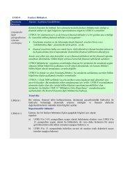 UFRS 8 Faaliyet Bölümleri Standarda Referans ... - Denetimnet.Net
