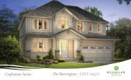 Craftsman Series The Barrington - 2,871 sq.ft. - Reid's Heritage Homes