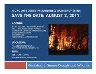 Severe Drought and Wildfire 2012 - Houston-Galveston Area Council