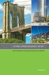 Doing Green Business in NYC - The Sallan Foundation