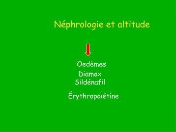 Néphrologie et Altitude