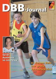 DBB-Journal DBB-Journal - Deutscher Basketball Bund
