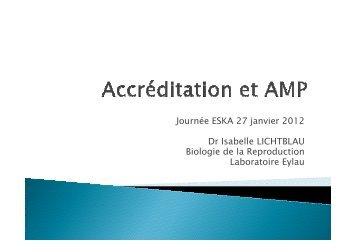 Accréditation et AMP topo ESKA I. LICHTBLAU