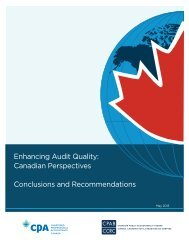Enhancing Audit Quality: Conclusions and Recommendations