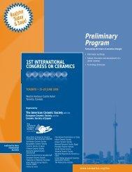 Preliminary Program - Verre online