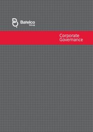 to download the latest Corporate Governance ... - Batelco Group