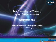 TMO-100 – Embedded Web Server - tetra