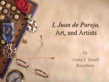 I, Juan de Pareja-Exploring Art - Teaching Middle School Language ...
