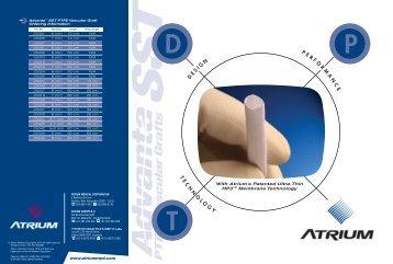 T N L G Y D P O R M N C E - Atrium Medical Corporation