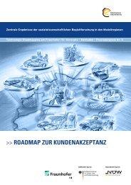 Roadmap zuR KundenaKzeptanz - ElektroMobilität NRW