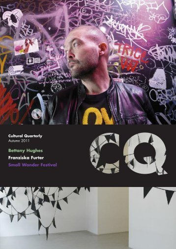 autumn 2011 issue - Cultural Quarterly Online