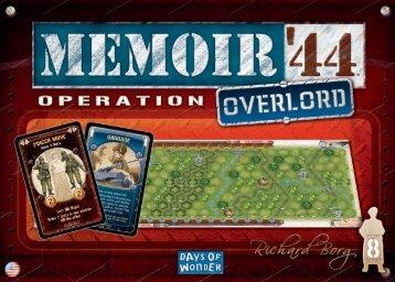 M44 overlord rules EN:Mise en page 1 - Days of Wonder
