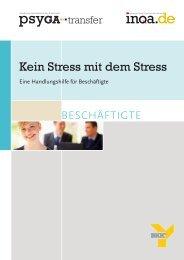 Kein Stress mit dem Stress - Deutsches Netzwerk für betriebliche ...