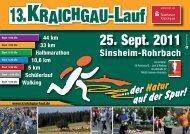 25. Sept. 2011 - Kraichgau-Lauf