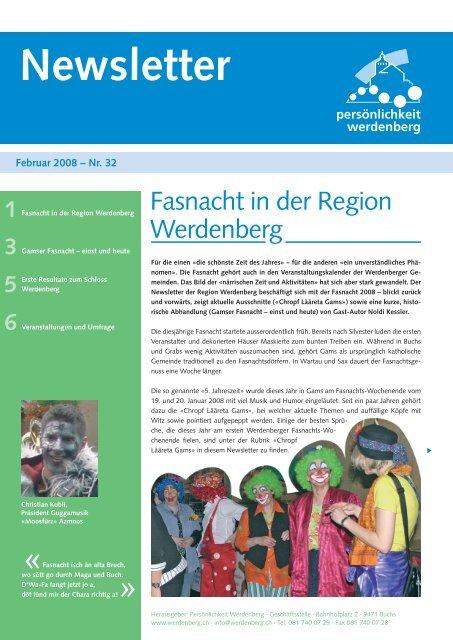 Februar 2008 - Region Werdenberg