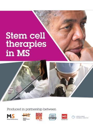 Stem cell therapies in MS - EuroStemCell