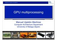 GPU multiprocessing - Prace Training Portal