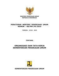 peraturan menteri pekerjaan umum nomor : 08 ... - Ditjen Cipta Karya