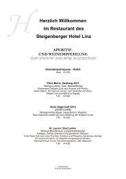 download Speisekarte - Steigenberger Hotels and Resorts