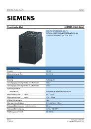 Product data sheet 6ES7307-1KA02-0AA0